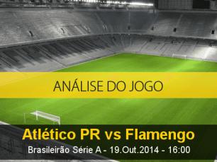 Análise do jogo: Atlético Paranaense vs Flamengo (19 Outubro 2014)