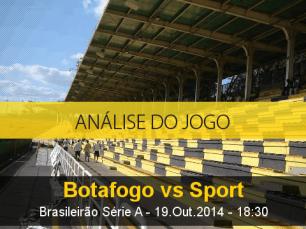 Análise do jogo: Botafogo vs Sport (19 Outubro 2014)