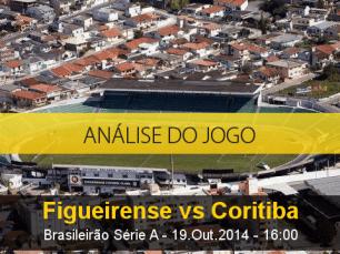 Análise do jogo: Figueirense vs Coritiba (19 Outubro 2014)