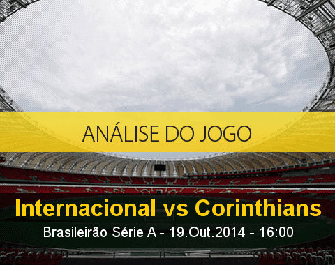 Análise do jogo: Internacional vs Corinthians (19 Outubro 2014)
