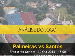 Análise do jogo: Palmeiras vs Santos (19 Outubro 2014)