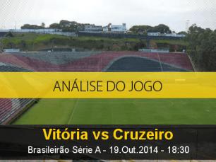 Análise do jogo: Vitória vs Cruzeiro (19 Outubro 2014)