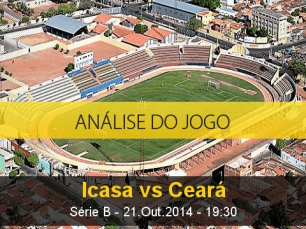 Análise do jogo: Icasa X Ceará (21 Outubro 2014)