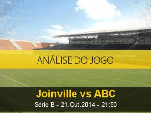 Análise do jogo: Joinville X ABC (21 Outubro 2014)