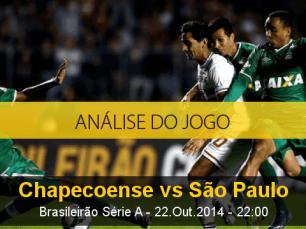 Análise do jogo: Chapecoense X São Paulo (22 Outubro 2014)