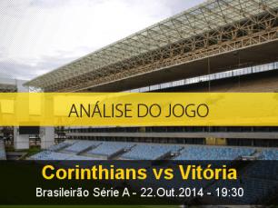 Análise do jogo: Corinthians X Vitória (22 Outubro 2014)