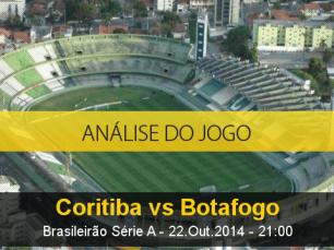 Análise do jogo: Coritiba X Botafogo (22 Outubro 2014)
