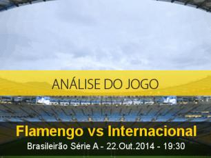 Análise do jogo: Flamengo X Internacional (22 Outubro 2014)