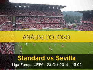 Análise do jogo: Standard de Liege X Sevilha (23 Outubro 2014)