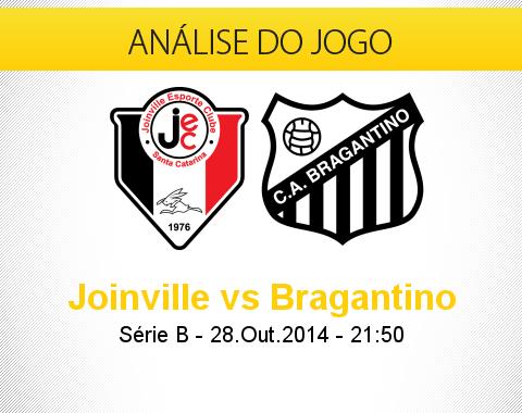 Análise do jogo: Joinville X Bragantino (28 Outubro 2014)