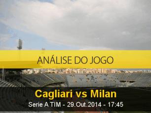 Análise do jogo: Cagliari X Milan (29 Outubro 2014)