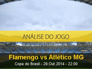 Análise do jogo: Flamengo X Atlético Mineiro (29 Outubro 2014)