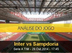 Análise do jogo: Inter de Milão X Sampdoria (29 Outubro 2014)