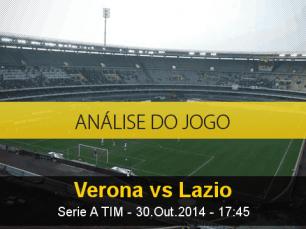 Análise do jogo: Hellas Verona X Lazio (30 Outubro 2014)