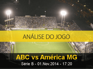 Análise do jogo: ABC X América Mineiro (1 Novembro 2014)