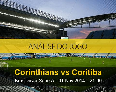 Análise do jogo: Corinthians X Coritiba (1 Novembro 2014)