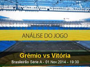 Análise do jogo: Grêmio X Vitória (1 Novembro 2014)