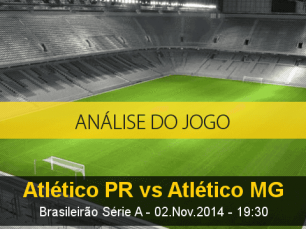 Análise do jogo: Atlético Paranaense X Atlético Mineiro (2 Novembro 2014)