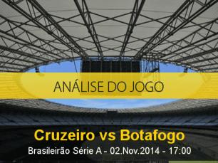 Análise do jogo: Cruzeiro X Botafogo (2 Novembro 2014)