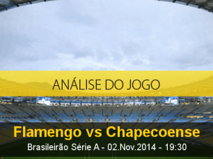 Análise do jogo: Flamengo X Chapecoense (2 Novembro 2014)
