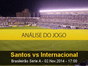 Análise do jogo: Santos X Internacional (2 Novembro 2014)
