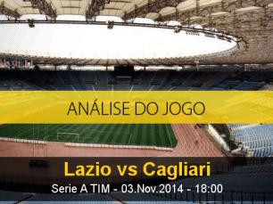 Análise do jogo: Lazio X Cagliari (3 Novembro 2014)