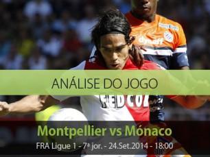 Análise do jogo: Montpellier vs Mónaco (24 Setembro 2014)