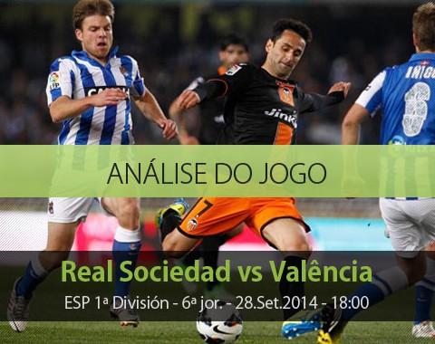 Análise do jogo:  Real Sociedad vs Valencia (28 Setembro 2014)