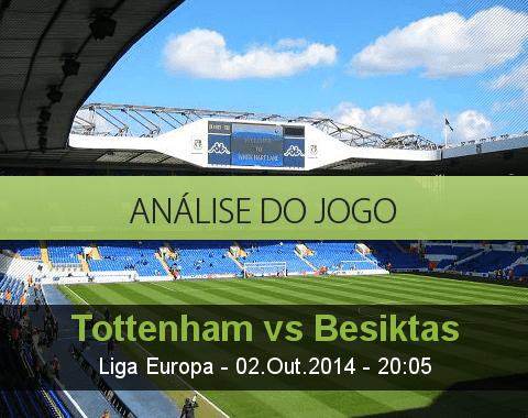 Análise do jogo: Tottenham vs Besiktas (2 Outubro 2014)