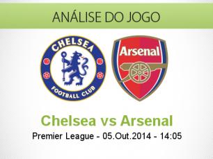 Análise do jogo: Chelsea vs Arsenal (5 Outubro 2014)