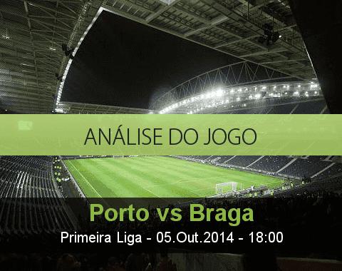 Análise do jogo: Porto vs Braga (5 Outubro 2014)