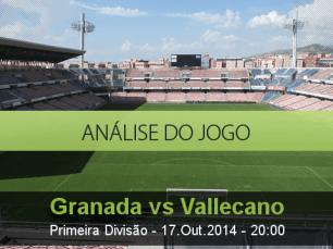 Análise do jogo: Granada vs Rayo Vallecano (17 Outubro 2014)