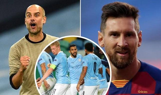 Proposta do Manchester City a Messi