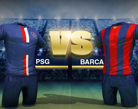 PSG vs Barcelona: o maior prémio que vais encontrar para qualquer uma destas equipas