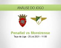 Prognóstico Penafiel Moreirense (25 Julho 2021)