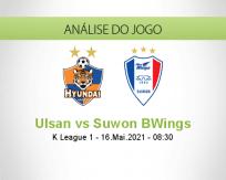 Prognóstico Ulsan Suwon BWings (16 Maio 2021)