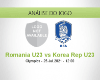 Prognóstico Romania U23 Korea Rep U23 (25 Julho 2021)
