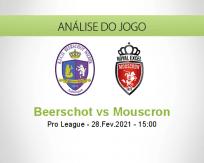 Prognóstico Beerschot Mouscron (28 Fevereiro 2021)