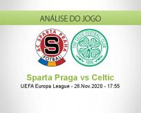 Prognóstico Sparta Praga Celtic (26 Novembro 2020)