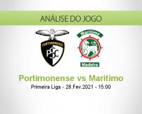 Prognóstico Portimonense Marítimo (28 Fevereiro 2021)