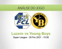 Prognóstico Luzern Young Boys (28 Fevereiro 2021)