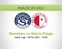 Prognóstico Slovácko Slavia Praga (28 Fevereiro 2021)