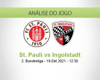 Prognóstico St. Pauli Ingolstadt (19 Setembro 2021)