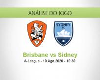 Prognóstico Brisbane Roar Sydney (10 Agosto 2020)