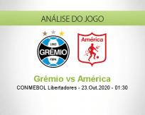 Prognóstico Grêmio América de Cali (23 Outubro 2020)
