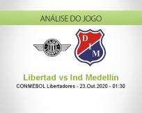 Prognóstico Libertad Independiente Medellín (23 Outubro 2020)