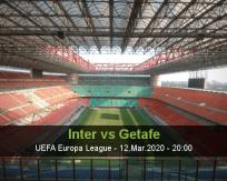 Internazionale vs Getafe
