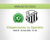 Prognóstico Chapecoense Operário PR (24 Outubro 2020)