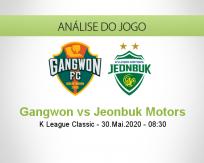 Gangwon vs Jeonbuk Motors