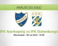 Prognóstico Norrkopig Goteborg (06 Julho 2020)
